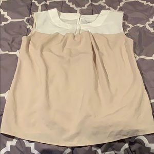 New York & Company Short Sleeve Blouse